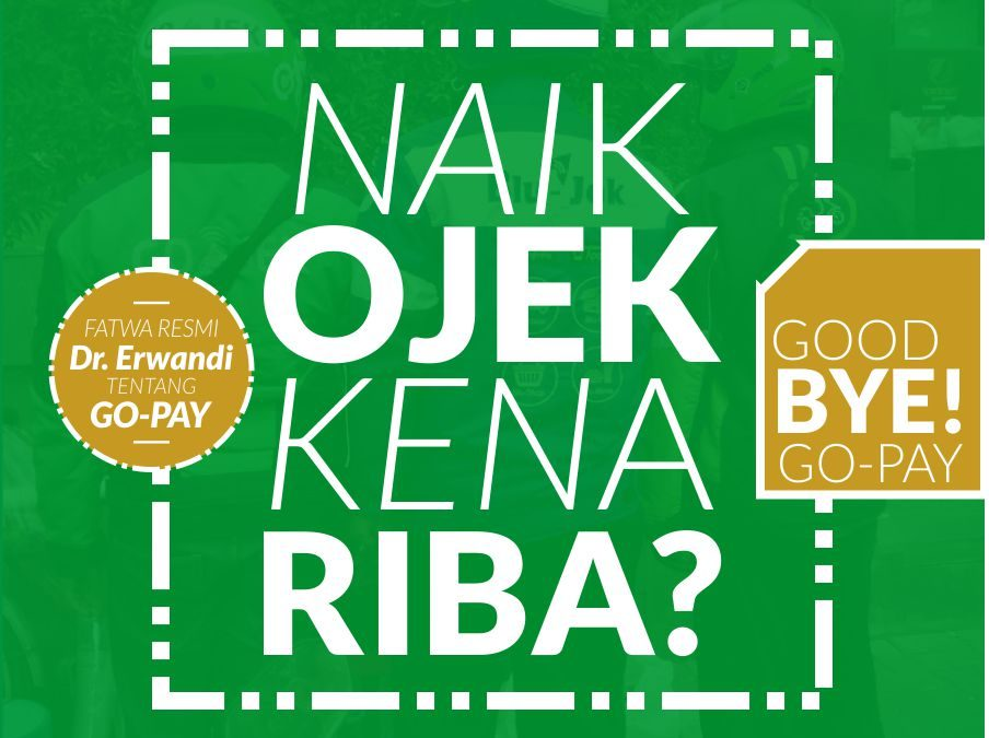 Good BYE! GO-PAY, TAKYIIF FIQHIY Deposit Uang di GO-PAY